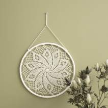 """MOTINI 2 Pack Dream Catchers for Bedroom, Hand Woven Dreamcatchers Boho Wall Art Wall Decor Hanging Decoration Home Ornament Craft Gift, 15.75"""" x 15.75"""", Set of 2"""