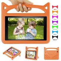 Fire HD 10 Kids Case-Dinines Shockproof Light Weight Protective Case for Fire HD 10 Tablet (5th/7th Generation, 2015/2017 Release) Orange