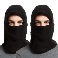 Fleece Lining Hat Winter Thick Warm Balaclavas Neck Warmer Face Cover for Men Women