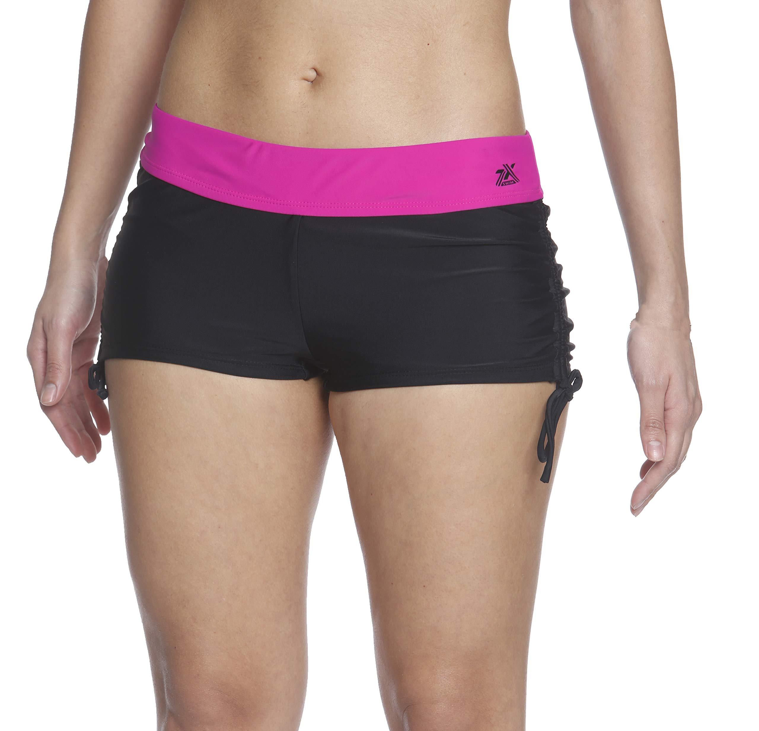 ZeroXposur Womens Boyshort Sporty Tankini Bottom Swimsuit Shorts