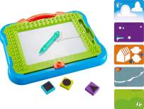 Think Gizmos Magnetic Writing Board / Sketch Pad – Fun Toy for Boys and Girls Aged 3 4 5 6 7 8 – Magnetic Board Learning Resource for Children – TG810