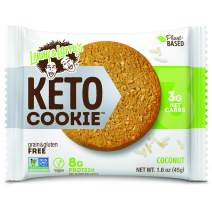 Lenny & Larry's Keto Cookie, Coconut, 1.6 oz (Pack of 12) Low Carb, Soft Baked