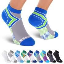 NEWZILL Low Cut Compression Socks (15-20 mmHg) for Men & Women - U.S Olympic Fencer Recommend
