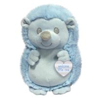 """First & Main 7"""" Blue Baby Hedgies Basic Plush Toys"""