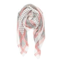 Scarf for Women Lightweight Geometric Fashion for Spring Fall Scarves Shawl Wraps