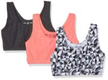 Fruit of the Loom Women's Built-Up Sports Bra (Pack of 3)