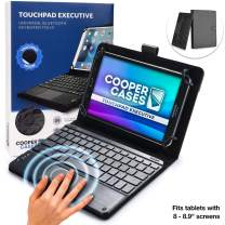 """Cooper Touchpad Executive [Multi-Touch Mouse Keyboard] case for 8 to 8.9"""" Tablets 