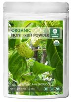 Naturevibe Botanicals USDA Organic Noni Fruit Powder (8 Ounces) - Morinda Citrifolia - 100% Pure & Natural - GlutenFree & Non-GMO | Supports Immunity System