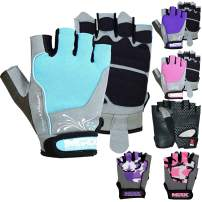MRX BOXING & FITNESS Weight Lifting/Exercise Grip Gloves for Women, Great for Workouts, Weight Training and More, Pro Series