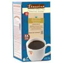 Teeccino Dandelion Tea - Organic Turmeric - Roasted Herbal Tea, Organic Dandelion Root, Prebiotic, Caffeine Free, Gluten Free, Acid Free, 25 Tea Bags