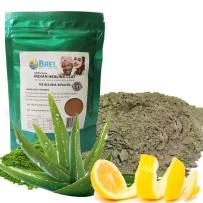 Bael Wellness Clay Mask,Bentonite/Aloe Vera/Lemon Peel Powder