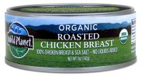 Wild Planet Organic Roasted Chicken Breast, Skinless and Boneless, 5 Ounce