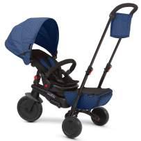 smarTrike Smartfold 700 Folding Baby Tricycle, Blue