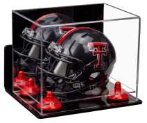 Better Display Cases Acrylic Mini - Miniature Football Helmet (not Full Size) Display Case