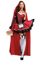 Dreamgirl Women's Little Red Riding Hood Costume