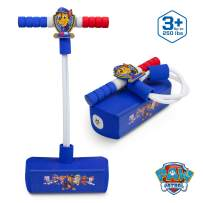 Flybar My First Foam Pogo Jumper for Kids Fun and Safe Pogo Stick for Toddlers, Durable Foam and Bungee Jumper for Ages 3 and up, Supports up to 250lbs (Paw Patrol Chase)