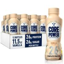 Core Power Protein Shakes (26g), Vanilla, No Artificial Sweeteners, Ready To Drink for Workout Recovery, 11.5 Fl Oz (Pack of 12)
