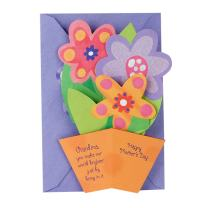 Hallmark Mother's Day Pop Up Card for Grandmother (Displayable 3D Flowers in a Pot)