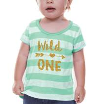 First Birthday Outfit Girl Wild One Year Old 1st Birthday Girl Outfit Green