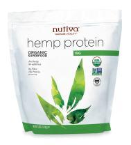 Nutiva Organic Cold-Pressed Hemp Seed Protein Powder, 15G Protein, 3 Pound