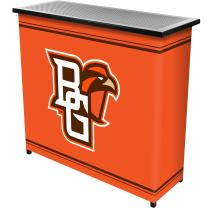 Trademark Gameroom Bowling Green State University Portable Bar with Case