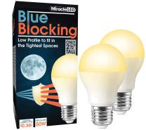 MiracleLED 604667 3W 2-Pack Blue Blocking Light, Low-Profile