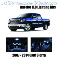 XtremeVision Interior LED for GMC Sierra 2007-2014 (12 Pieces) Cool White Interior LED Kit + Installation Tool