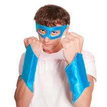 Everfan Men's Superhero Eye Mask and Powerbands