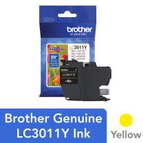 Brother Printer LC3011Y Single Pack Standard Cartridge Yield Up To 200 Pages LC3011 Ink Yellow