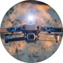 Selfie Mavic: LED Light Kit, Drone positionlight, Accessories for DJI Mavic Pro, Mavic 2 (Pro/Zoom/Enterprise), Drone positionlight, 45 Lumen, tiltable lamp