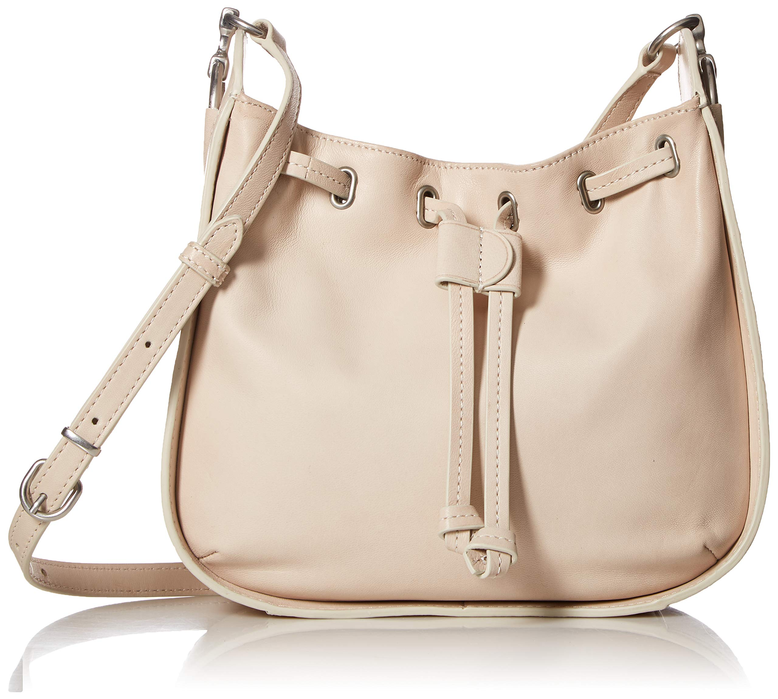 FRYE Ilana Small Leather Drawstring Crossbody