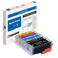 INK4WORK 6 Pack Compatible Ink Cartridge Replacement (with Gray) for Canon PGI-270XL CLI-271XL PGI270 XL CLI271 XL for Canon PIXMA PIXMA TS8020 TS9020 MG7720