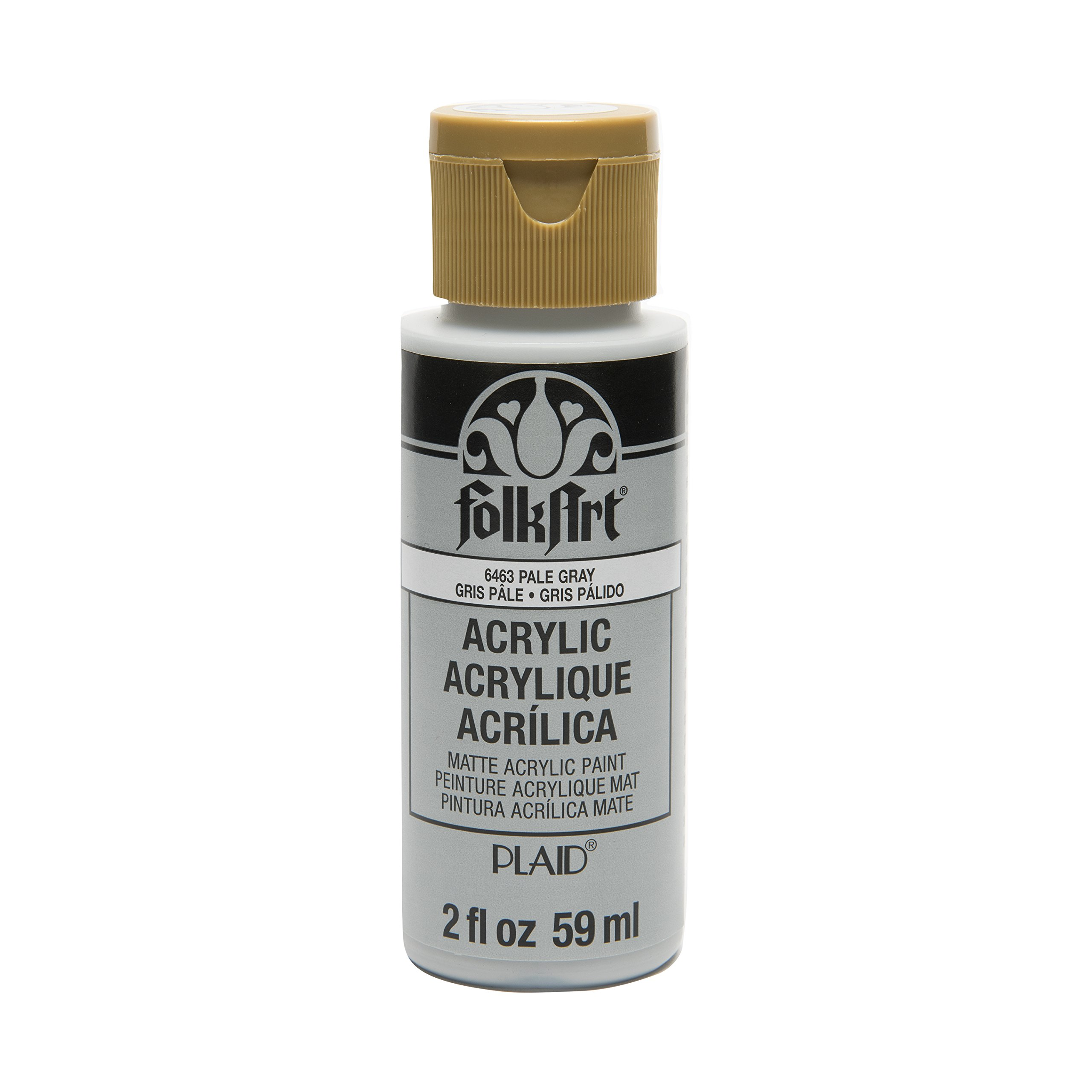 FolkArt Acrylic Paint in Assorted Colors (2 oz), , Pale Gray