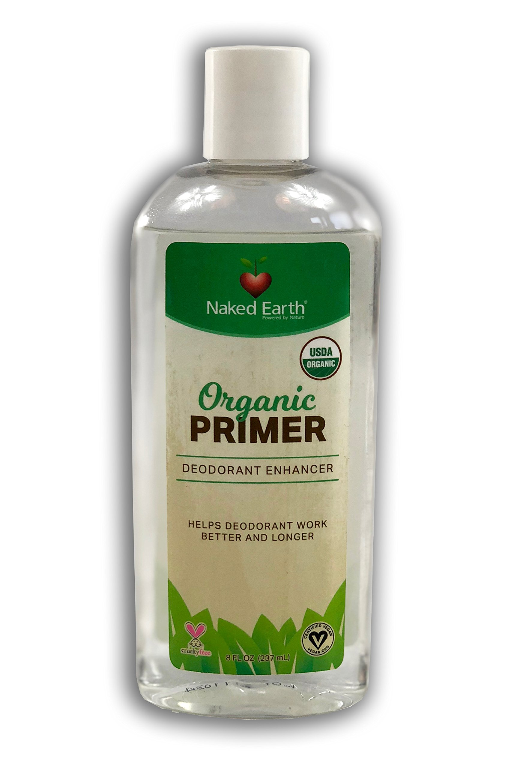 Naked Earth's Organic Deodorant Primer - Enables Deodorant to Work Better and Longer