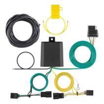 CURT 56422 Vehicle-Side Custom 4-Pin Trailer Wiring Harness, Select Volkswagen Tiguan