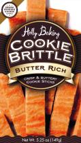 Holly Baking Cookie Brittle, Butter Rich, 5.25 Ounce (Pack of 6)