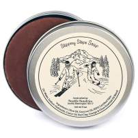 Slippery Slope Soap-100% Natural & Hand Made. Scented with Essential Oils. One 4 oz Bar in a Convenient Travel Gift Tin. Great For Ski Snowboard Fans.