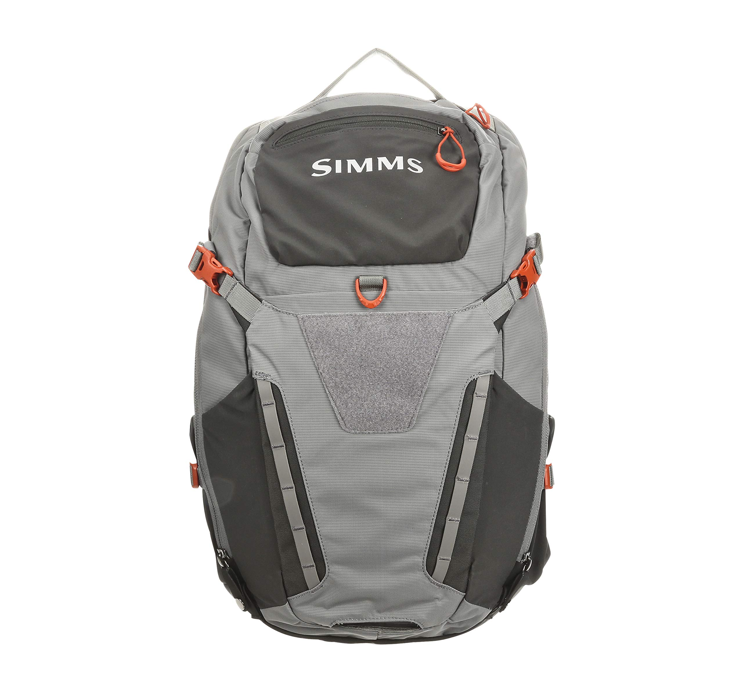 Simms Freestone Fishing Backpack – Water Resistant 35 L Fishing Bag with Rod Holder – Magnetic Tool Docking & Fly Box Storage Pockets – Hydration Pocket