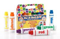 Washable Do A Dot Markers - Set of 36 Rainbow Paint Arts and Crafts Supplies for Kids and Toddler Activities for Preschool Kindergarten and Elementary School Teachers Classroom Pack by Do A Dot Art