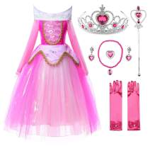 JerrisApparel New Princess Costume Girls Party Role Paly Dress up