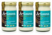 Artisana Organics Non GMO Raw Coconut Butter (3 Pack (14 oz))