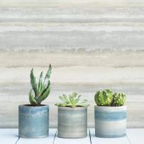 RoomMates Watercolor Stripe Peel and Stick Wallpaper