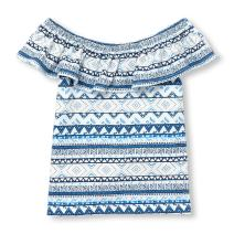 The Children's Place Baby Girls' Off Shoulder Top