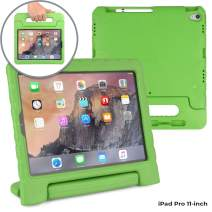 Cooper Dynamo [Rugged Kids Case] Protective Case for iPad Pro 11-inch 2018 only | Child Proof Cover: Stand, Handle, Pencil Grove | A1980 A2013 A1934 A1979 (Green)