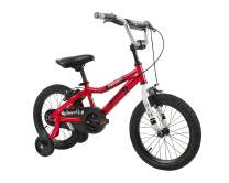 Duzy Customs 16'' Red Kids Bike with Five Minute Quick Assembly