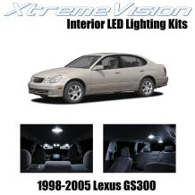 XtremeVision Interior LED for Lexus ES300 ES350 2013-2015 (10 Pieces) Pure White Interior LED Kit + Installation Tool Tool