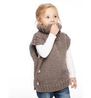 Sumolux Kids Girls Knit Sweater Jumper Vest Cardigan for Autumn Winter