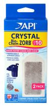 API CRYSTAL BIO-CHEM ZORB Filtration Cartridge, Cleans and clears aquarium water removing debris, colors, odors, heavy metals, and toxic gases, Use when starting or maintaining an aquarium