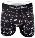 Good Luck Undies Men's Math Equations Boxer Brief Underwear