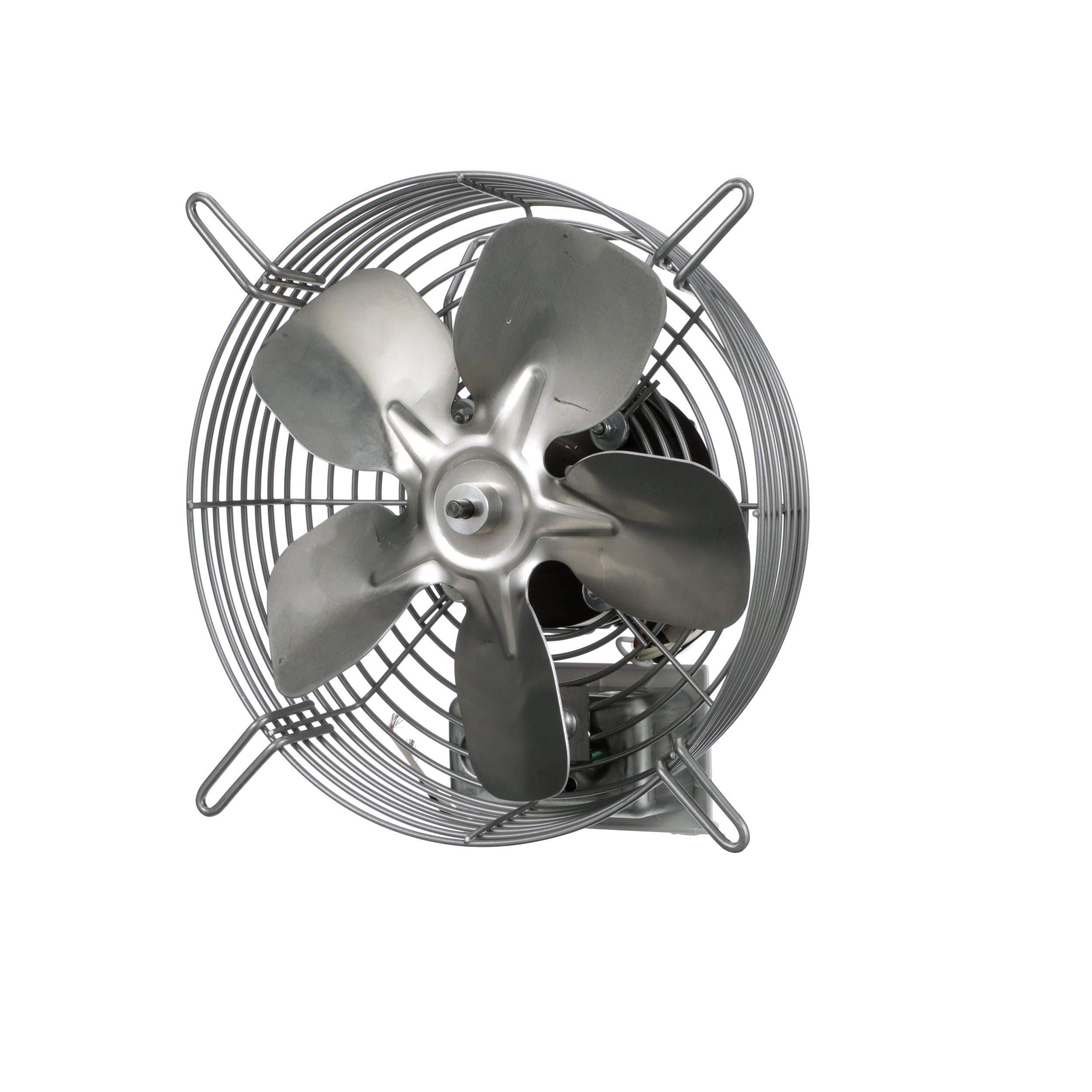 "TPI Corporation CE-10-D Direct Drive Exhaust Fan, Guard Mounted, Single Phase, 10"" Diameter, 120 Volt"